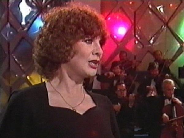 Laďka Kozderková - zpěvačka 1985